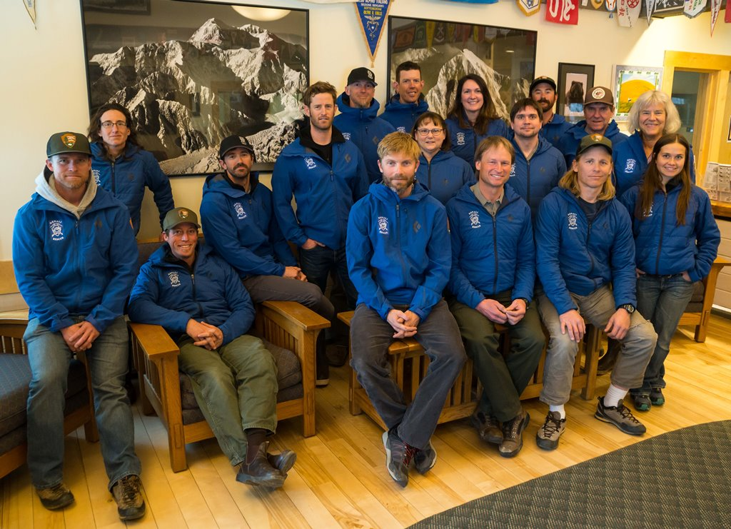 Group photo of 2018 ranger station staff