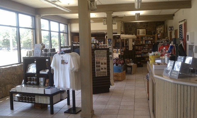 Eastern National Bookstore at Pea Ridge National Military Park