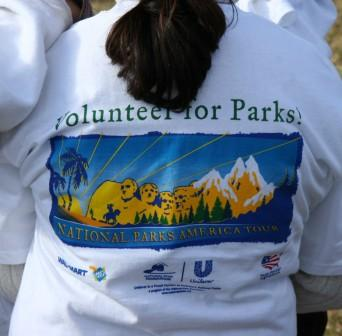 Volunteers are greatly appreciated in the park.