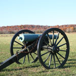 Cannon on the Pea Ridge Battlefield