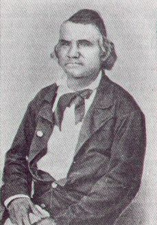 Colonel Stand Watie - Commander, 2nd Cherokee Mounted Rifles