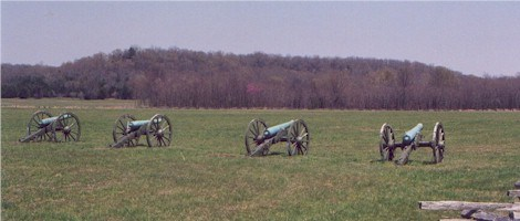 Federal Artillery at Pea Ridge