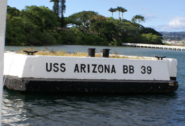 The USS Arizona Mooring Quay