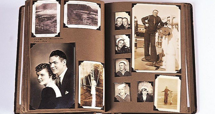 Photograph album of Paxton Turner Carter.  Born 1912, he was killed in action aboard the USS Arizona on December 7, 1941.