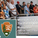 An image of the top part of WWII Valor in the Pacific National Monument's facebook page.