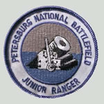 Petersburg National Battlefield Junior Ranger Patch