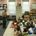 Park Ranger Visits Local School