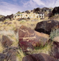 Book cover about petroglyphs