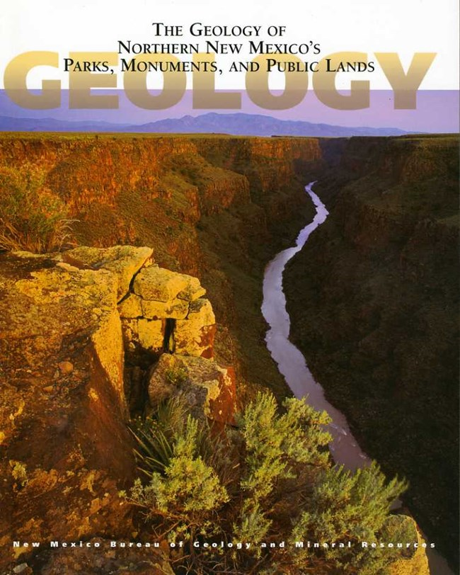 Book cover photo featuring the Rio Grande Gorge in northern New Mexico.