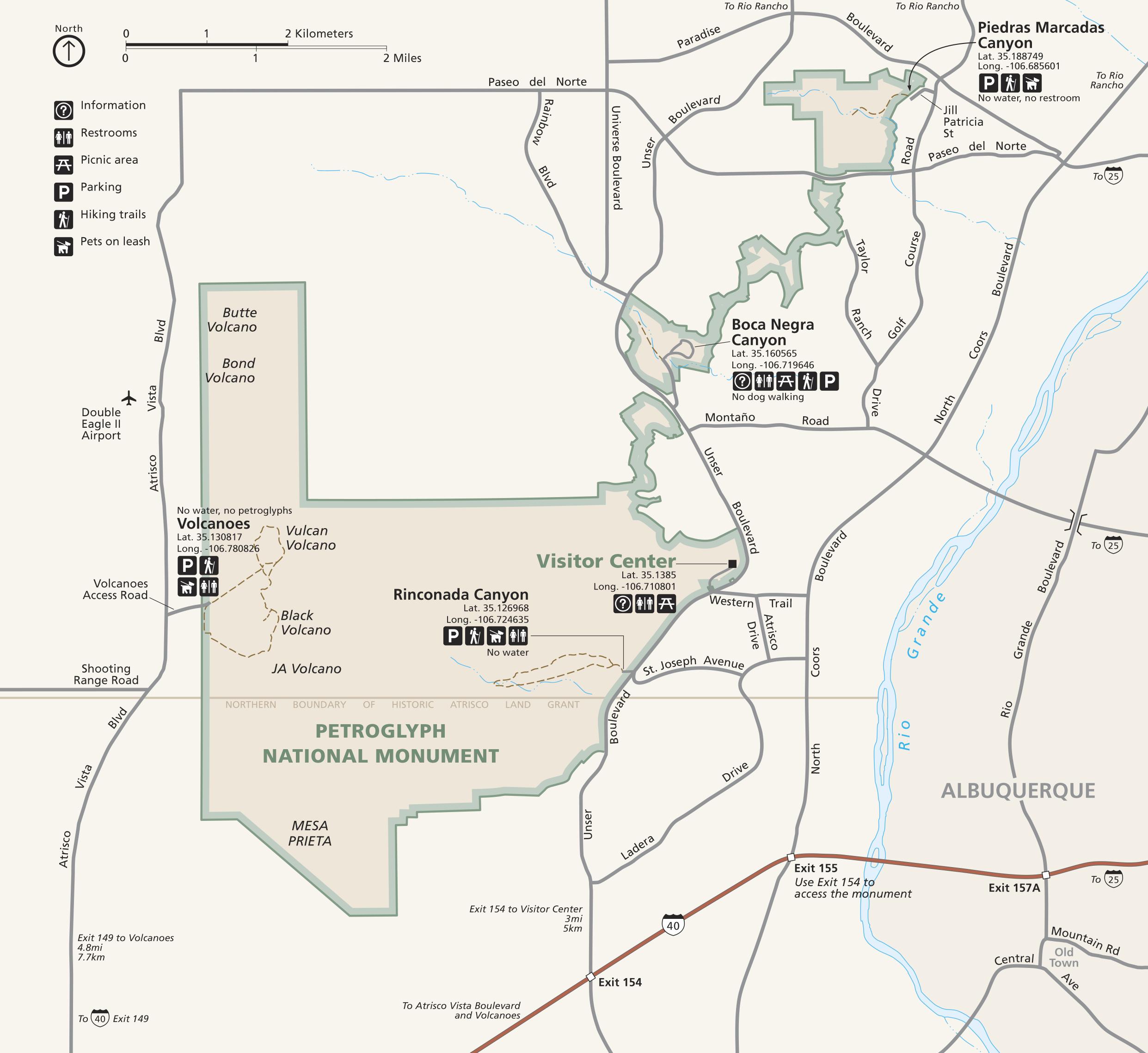 Directions - Petroglyph National Monument (U.S. National Park Service)