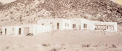 Historic photo of visitor center