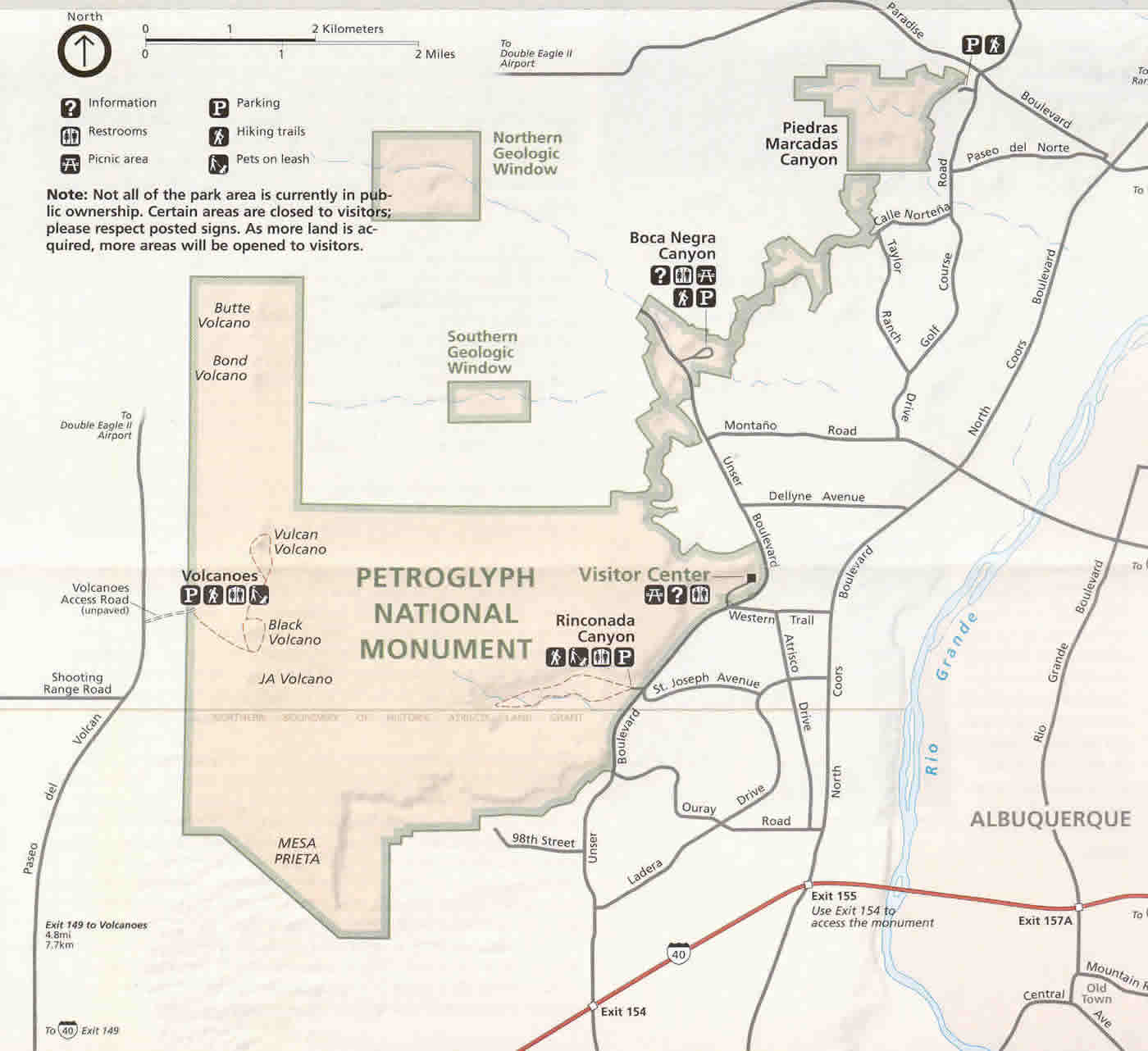 National Parks In New Mexico Map.Visiting The Parks Petroglyph National Monument National Parks