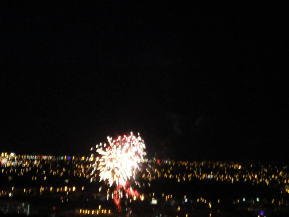 Fireworks over St. John's- Canada Day