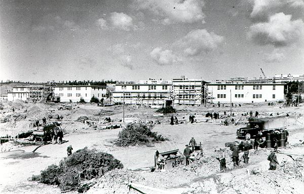 Construction at Fort Pepperrell, 1941 Construction at Fort Pepperrell began in May 1941. Builders were initially told the base should accommodate 3,500 American troops, but that number was increased to 5,500 after Japan attacked Pearl Harbour on Dec. 7, 1941.