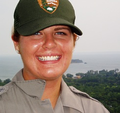 Smiling Seasonal Park Ranger