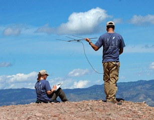 Volunteers track condors in the High Peaks