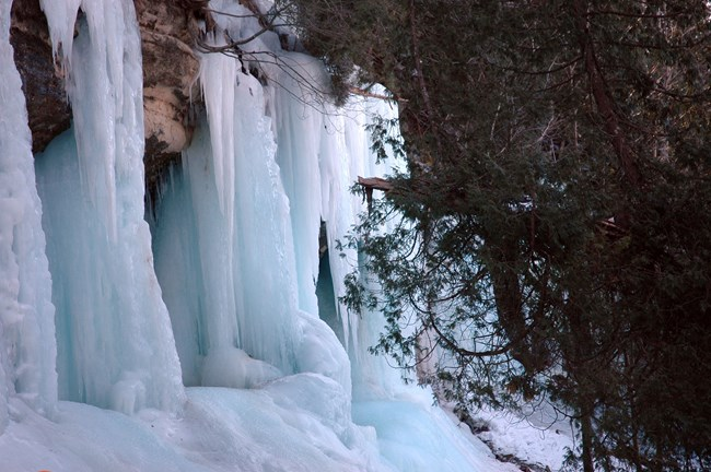 Ice Formations within Pictured Rocks National Lakeshore