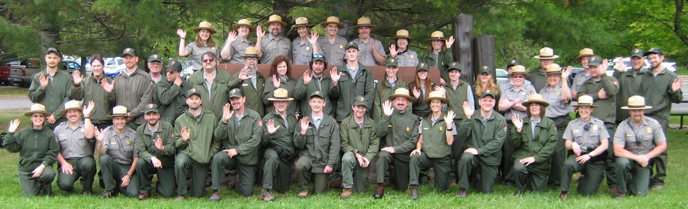 Pictured Rocks National Lakeshore staff, June 3, 2014