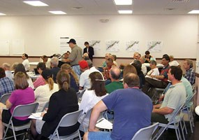 This public meeting sought to obtain comments from the public regarding the lakeshore's draft General Management Plan.