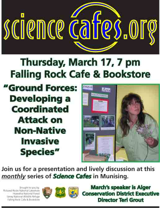 March 2011 science cafe