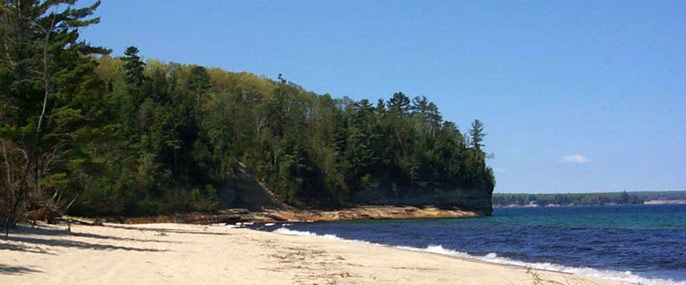Miners Beach and Lake Superior