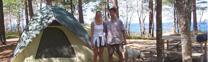 Post Office Passport Service >> Camping - Pictured Rocks National Lakeshore (U.S. National Park Service)