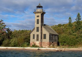 East Channel Lighthouse on Grand Island.