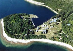 Fayette Historic State Park aerial photo