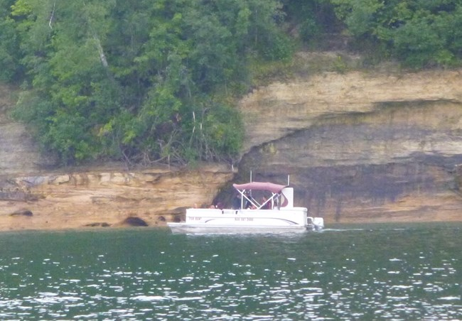 Boating - Pictured Rocks National Lakeshore (U S  National
