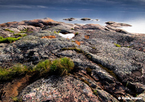 Wild Shore of an Inland Sea - Pukaskwa National Park on Lake Superior's north shore.  Photo copyright Klaus Rossler.
