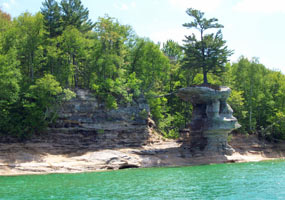 Scenic Sites Pictured Rocks National Lakeshore U S