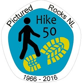 Pictured Rocks NL Hike 50 Logo