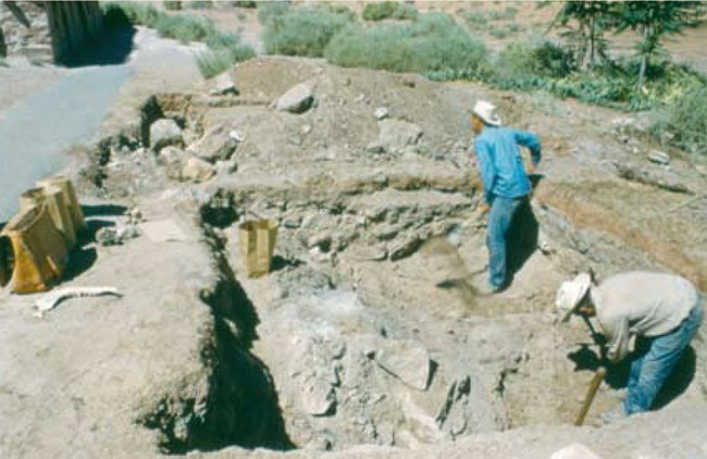 Excavation of Whitmore Dugout
