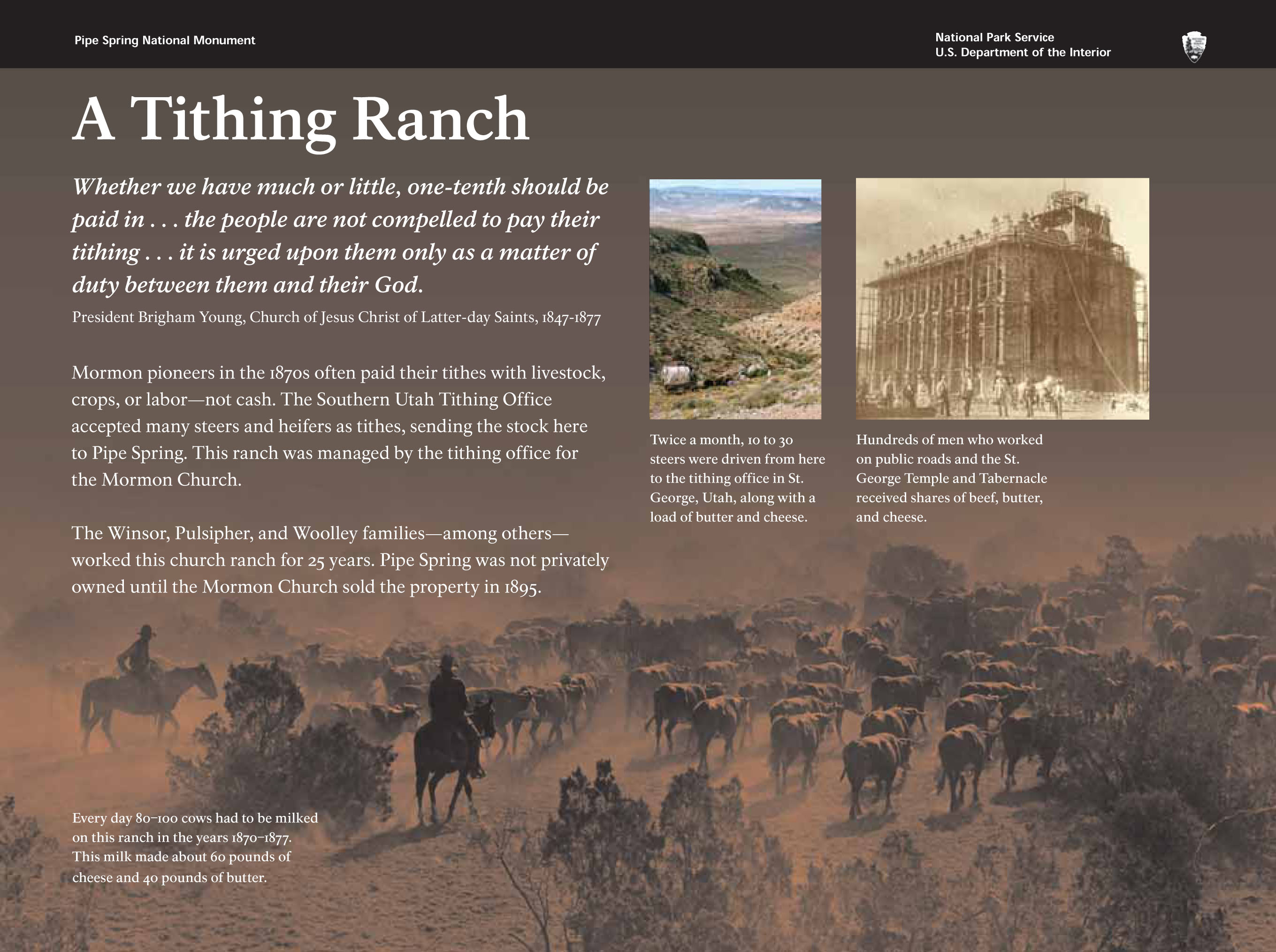 A Tithing Ranch - Pipe Spring National Monument (U S  National Park