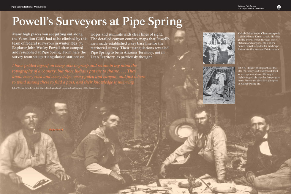 Powell's Surveyors at Pipe Spring
