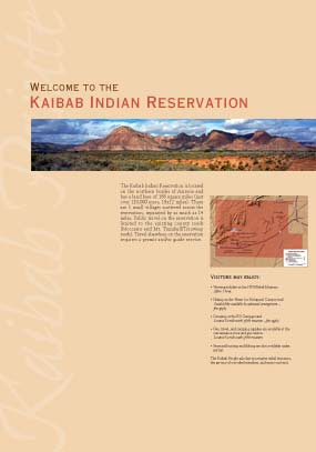 Welcome to the Kaibab Indian Reservation
