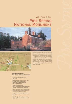 Welcome to Pipe Spring National Monument