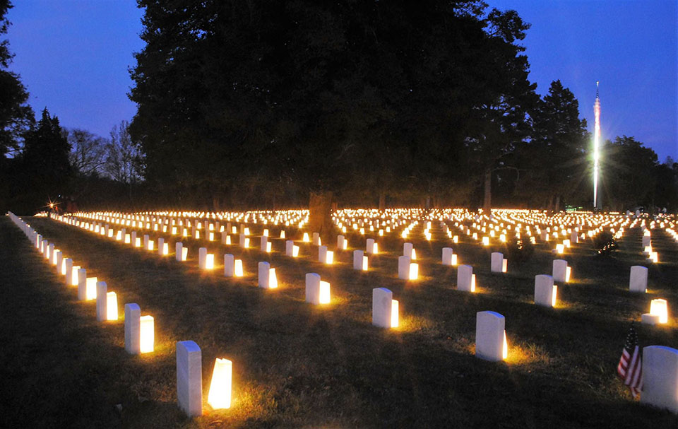 Poplar Grove Luminary Event - 2017