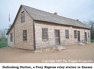 Hollenberg Station in Northeastern Kansas.