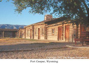 Fort Caspar Pony Express National Historic Trail U S