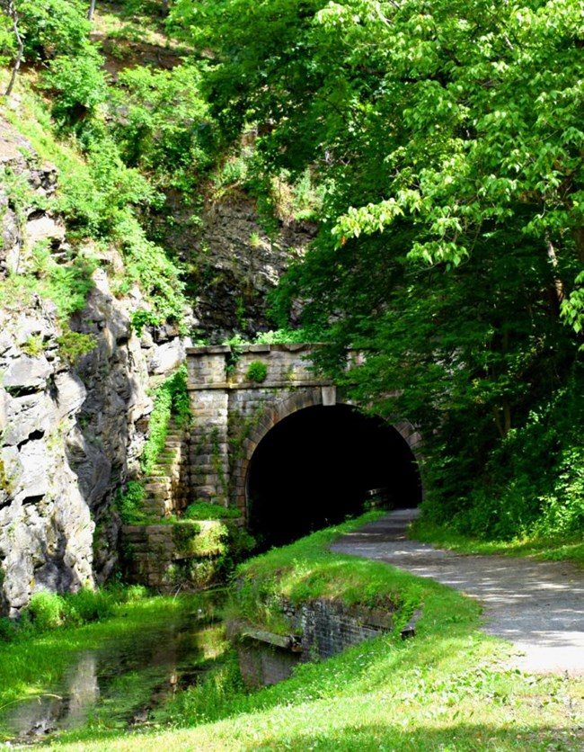 The Western Entrance of Paw Paw Tunnel