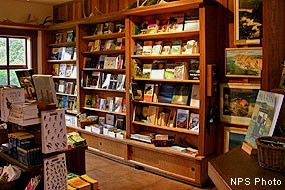 Point Reyes National Seashore Association's bookstore in the Bear Valley Visitor Center