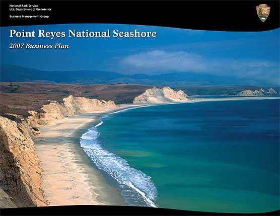 Cover of the 2007 Point Reyes National Seashore Business Plan