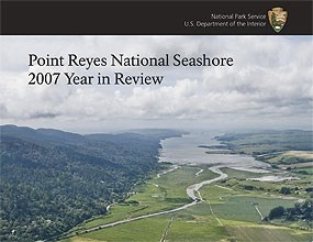 Cover of the Point Reyes National Seashore's 2007 Year in Review
