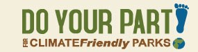 Logo for Do Your Part for Climate Friendly Parks