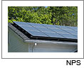 Photovoltaic panels on Point Reyes National Seashore's Administration building.  Click on this image to view the Soundslides presentation.