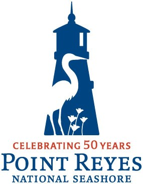 Logo for Point Reyes National Seashore's 50th Anniversary
