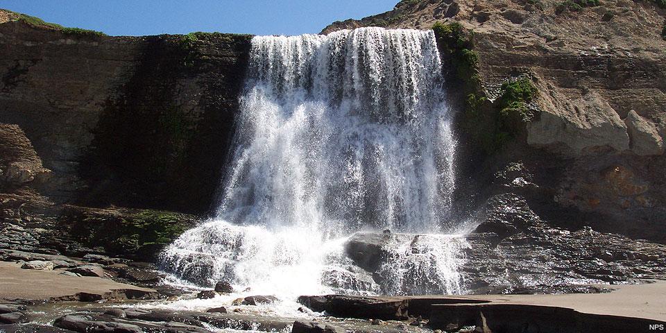 Alamere Falls. April 19, 2006.