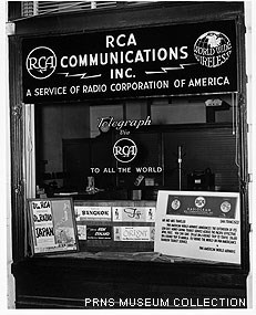RCA's office in San Francisco displaying their services.