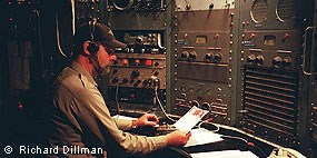 RCA Radio Operator at Historic Coast Station KPH © Richard Dillman